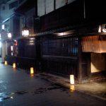 京都・木屋町通りに設置