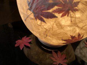 京都で和紙あかり手作り体験