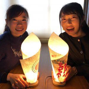 卒業旅行で京都へお越しなら和紙あかり手作り体験
